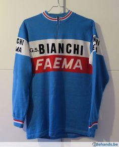 Bianchi Faema 1978 vintage koerstrui wielertrui. Molteni Cycling 0cb55b565
