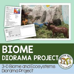 For ecology students will learn about abiotic and biotic factors