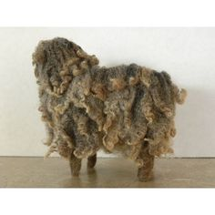 Love this little warm and wooly curly locks needle felted sheep