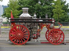 old fire engines | Old fire engine | Flickr - Photo Sharing!
