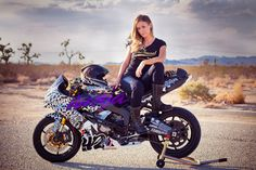 Imagine my delight checking my email in the morning to find these shots from Ms. Stunts– some of which have not yet been seen by the likes of the internet! Beautiful Leah (Stunts) Petersen and her brand spankin' new stunt bike- a 2013 Kawasaki zx6r Ninja 636 in leopard print livery. Complete with a matching Icon Airmada Sauvetage helmet and Catwalk gloves. [ see more photos of LeahStunts | stunting ]