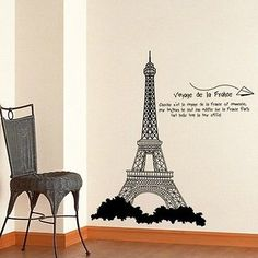 Effel-Tower-DIY-Removable-Art-Vinyl-Wall-Sticker-Decal-Mural-Home-Room-Decor