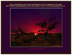 Romans 8:18 ~ Warren Camp Designs