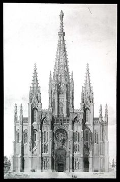 Gothic - Royal Institute of British Architects Gothic Architecture Characteristics, Gothic Architecture Drawing, Cathedral Architecture, Temple Architecture, Ancient Greek Architecture, Religious Architecture, Historical Architecture, Beautiful Architecture, Architecture Design