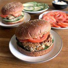 Feta and Zucchini Turkey Burgers with Garlic Mayo Recipe