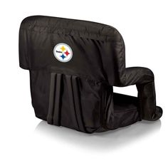 Be comfortable anywhere with the NFL Reclining Stadium Seat! Great for using on bleachers, picnics, tailgating or even through long hours of gaming. The compact size is also a clever space saver for d