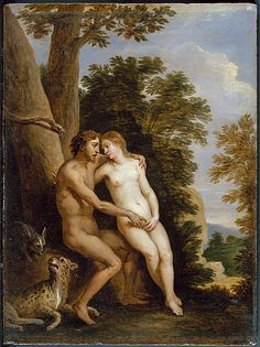 David Teniers the Younger (Flemish, Antwerp 1610–1690 Brussels) | Adam and Eve in Paradise. Date: 1650s