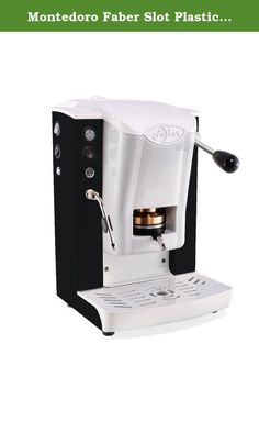 1437efded96d1 Montedoro Faber Slot Plastic Black - Espresso Pods Machine - Espresso ESE  Pods Machine - Special