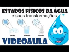 Estados físicos da água - YouTube Youtube, Professor, Family Guy, Fictional Characters, Water Cycle, World Water Day, 5 Years, Teaching, Science