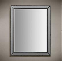 Venetian Beaded Mirror – Silver