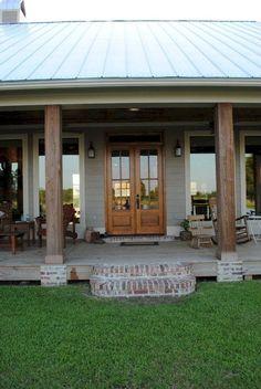 53 amazing farmhouse porch decor ideas