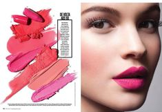 #pinklips #glamourmakeup