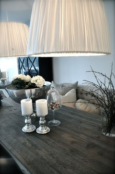 Bring the lighting to create an Intimate umbiance...the bowl w the white flowers set's it off...cafe' anybody...?