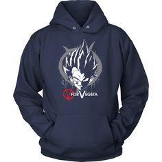 Super Saiyan Vegeta V vendetta Unisex Hoodie T shirt - TL00543HO