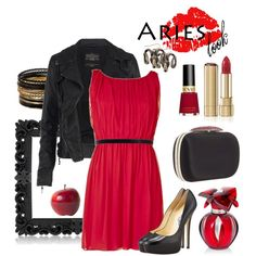 ARIES look (by caoticana on Polyvore)