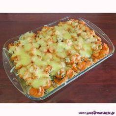Carrot casserole - casserole recipe - Carrot casserole with minced meat - Carrot Casserole, Casserole Recipes, Calories In Vegetables, Veggies, Vegetable Dishes, Vegetable Recipes, Mince Dishes, Cooking Dishes, Shrimp Pasta Recipes