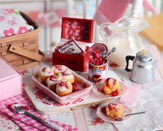 Rollos de canela Cherry miniaturas
