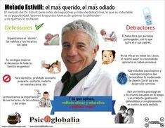 Infografía del método Estivill  (como deben dormir los niños)