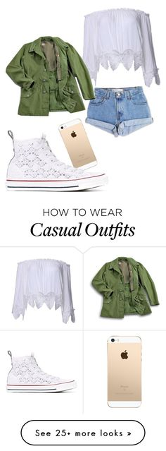 """Casual Day"" by svbrinvp on Polyvore featuring Levi's and Converse"