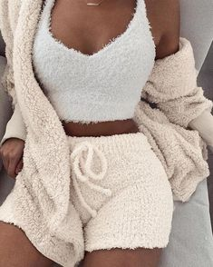 Fluffy Hooded Open Front Teddy Coat & Short Sets Fluffy Hooded Open Front Teddy Coat & Short Sets The post Fluffy Hooded Open Front Teddy Coat & Short Sets appeared first on Kleidung ideen. Swag Outfits, Mode Outfits, Fashion Outfits, Fall Outfits, Dress Outfits, Peplum Dresses, Jackets Fashion, Beach Outfits, Baby Dresses