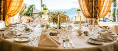 Your celebration at Hotel Eden Roc in Maggiore Hotel Eden, Beautiful Day, Celebration, Table Settings, Table Decorations, Weddings, Group, Home Decor, Decoration Home