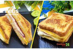 Tavada Yumurtalı Tost (Videolu) Tarifi nasıl yapılır? 908 kişinin defterindeki bu tarifin detaylı anlatımı ve deneyenlerin fotoğrafları burada. Baked Eggs, Bread Baking, Salsa, French Toast, Yummy Food, Yummy Recipes, Sandwiches, Food And Drink, Cooking
