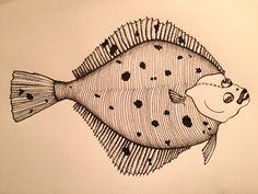 Black pen fish