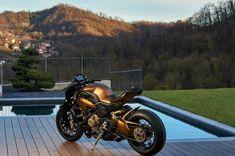 "Naked Panigale Custom – Officine GP Design's ""Penta Cafe Racer Magazine, Ducati Motorcycles, Bobber, Vehicles, Design, Car, Vehicle, Tools"