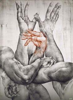 Oldrich Kulhanek. lithograph. http://hadrian6.tumblr.com