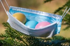 Free Image on Pixabay - Easter, Easter Eggs, Corona, Mask Free Pictures, Free Images, Feed Rss, About Easter, Wooden Puzzles, Egg Hunt, Happy Easter, Easter Eggs, Easter Bunny