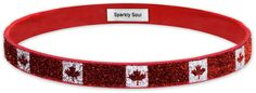 O Canada! NEW @sparklysoulinc Canadian Flag SPARKLE wide headband is NOW available online here: http://shop.sparklysoul.com/SPARKLE-Canada-Wide-SPARKLECANADAWIDE.htm ENTER TO WIN 1 of 3! 1. LIKE this photo AND 2. TAG someone who would love this from Canada below in the comments! Enter through 8/9 11:59pm PST! 3 winners chosen at random from all social media on 8/10! For additional entry, share this exciting new product on any social media with hashtag #sparklysoulCANADA