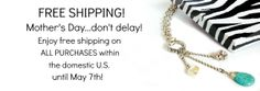 FREE SHIPPING at www.accessoriesinstyle.com