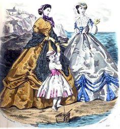 Fashion Plate August 1865