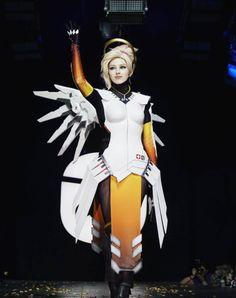 Overwatch: Mercy cuenta con este fantástico cosplay | Alfa Beta Juega