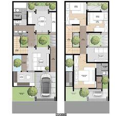Photoshop Rendering, Photoshop Design, Visualisation, 3d Visualization, Architecture Design, Architectural House Plans, Sims House, Landscape Design, Townhouse