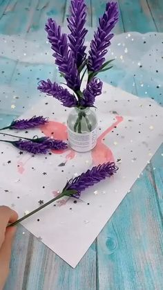 DIY Papier DIY Paper Flowers (Folding Tricks): 5 Steps Blackjack: Learn How to Become a Champion Lea Paper Flowers Craft, Paper Crafts Origami, Flower Crafts, Diy Flowers, Origami Flowers, Flower Diy, Origami Butterfly, Peony Flower, Lavender Flowers