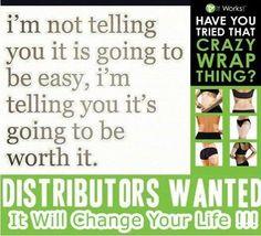 So worth it! Call/text Claudette 520-840-8770 http://bodycontouringwrapsonline.com/make-money-become-a-distributor