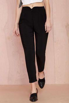 Walk Away Pleated Trousers