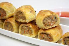 Thai Pork Sausage Rolls