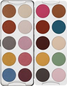 Eye Shadow Palette 20 Colors | Kryolan - Professional Make-up