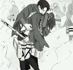 Attack On Titan Comic, Attack On Titan Ships, Hanji And Levi, Iphone Wallpaper Glitter, Eremika, Levihan, Manga Reader, Levi Ackerman, Anime Ships