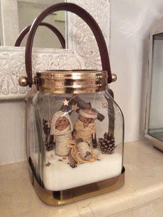 Nativity/ creche 2015 - sugar & wood & cork