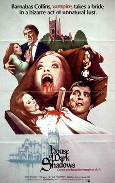 One sheet poster featuring Jonathan Frid as Barnabas Collins, Kathryn Leigh Scott as Maggie Evans, Nancy Barrett as Carolyn Stoddard and John Karlen as Willie Loomis.