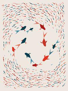 PIXTIL — Fish#01 by pixtil