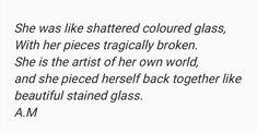 """Beautifully Broken"""