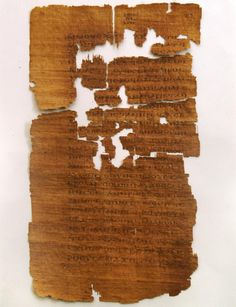 Egyptian wedding certificate key to authenticating controversial biblical text.
