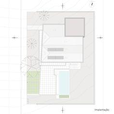 Imagem 2 de 19 da galeria de Casa AM / Arte Urbana Arquitetos. Implantação