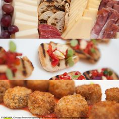 Nice food for great moments ! Event : opening Artemide showroom : Chicago ~ USA.