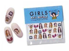 Girls Nail Decals