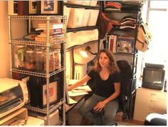 A woman who lived in a 90-square-foot apartment shares tips on living small || Image http://static2.techinsider.io/image/56e70bd291058428008b63c6-532-399/screen%20shot%202013-01-03%20at%204.32.29%20pm.png Source:
